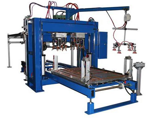 全自动平板点焊机